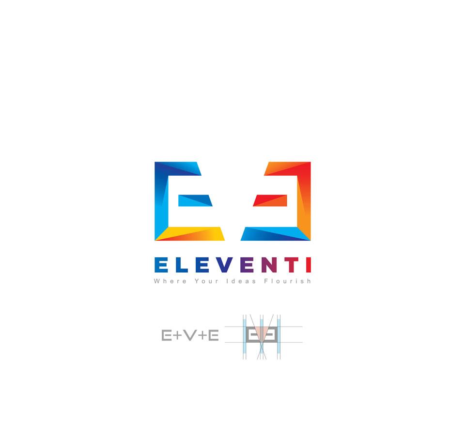 Eleventi logo design
