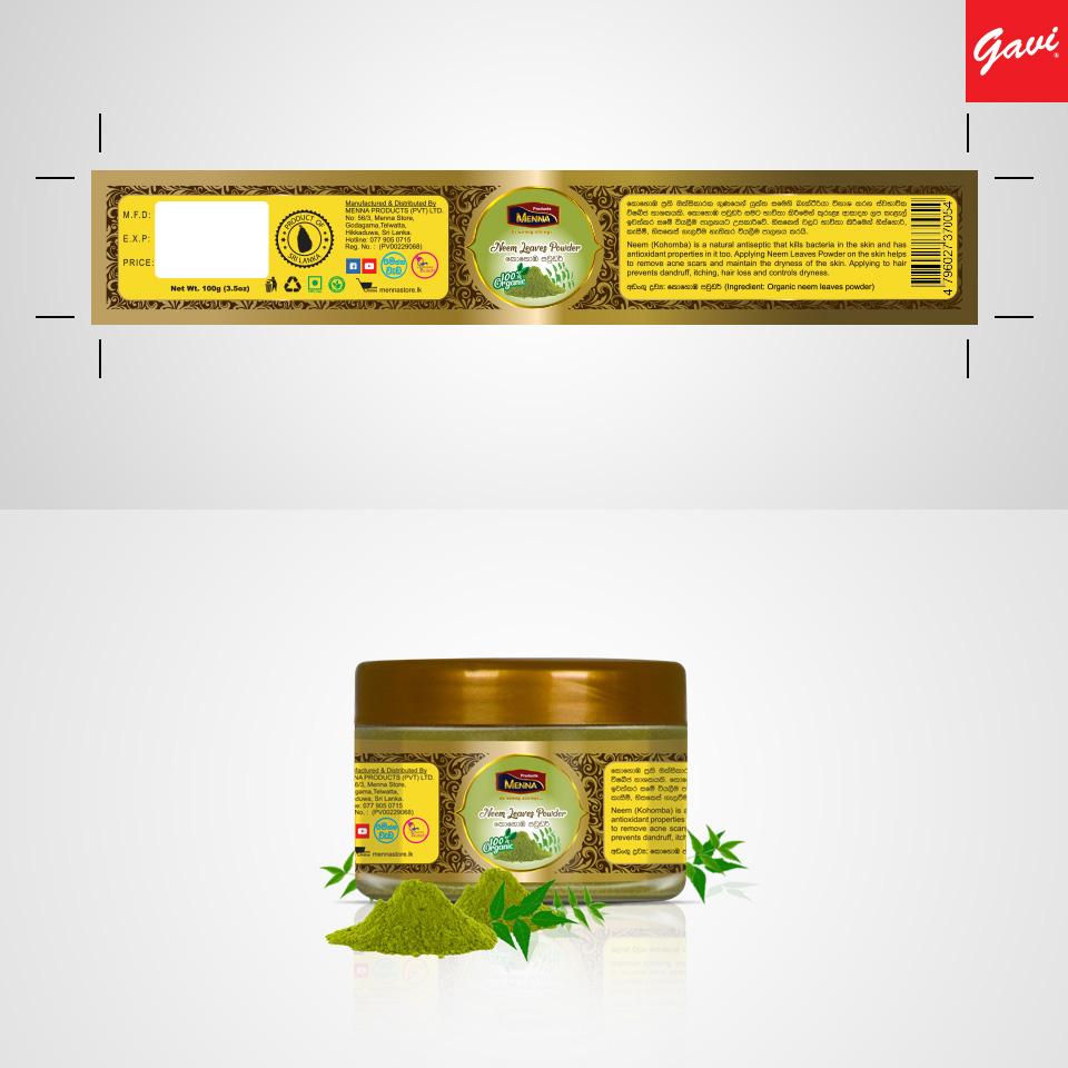 Label design Sri Lanka